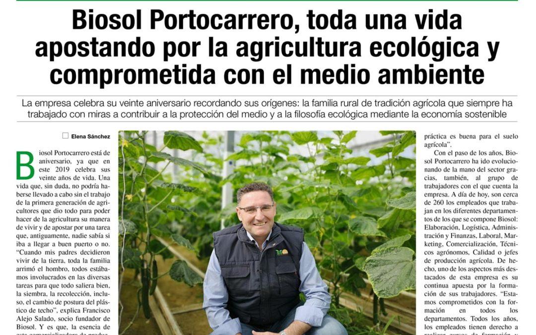 20 Aniversario de BIOSOL PORTOCARRERO en FHAlmería