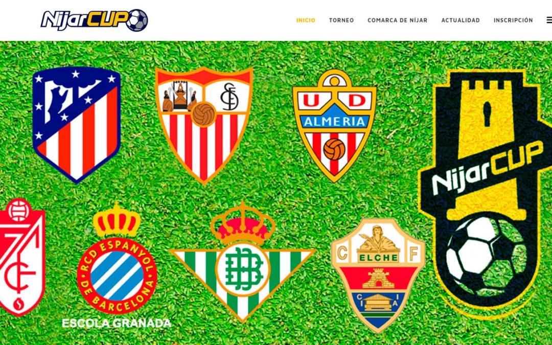Bio Sol Portocarrero  patrocinador del Torneo de Futbol Base Níjar Cup