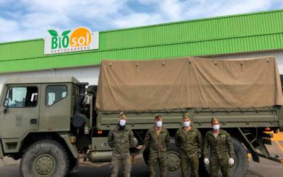 Bio Sol Portocarrero realiza una donación al Banco de Alimentos