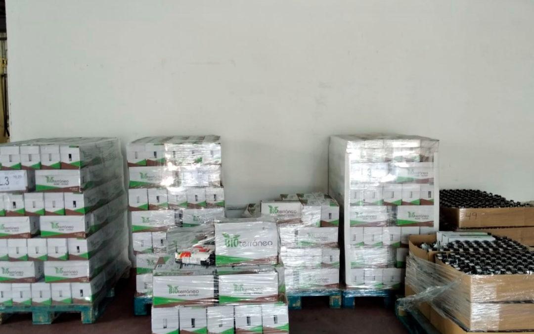 Bio Sol Portocarrero continúa haciendo donaciones al banco de alimentos.