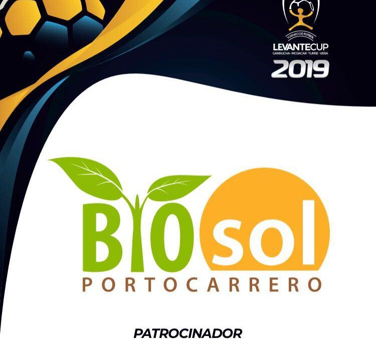 Bio Sol Portocarrero  official sponsor of Levante Cup