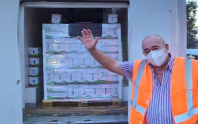 Nueva donación al Banco de Alimentos de Bio Sol Portocarrero