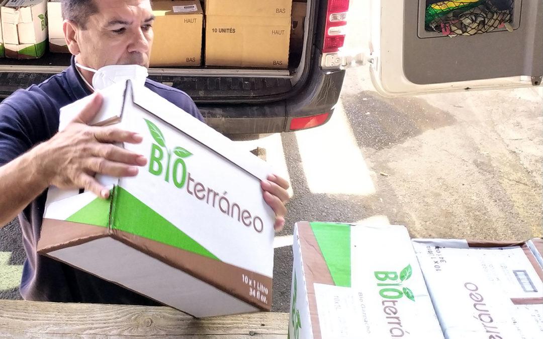 Donación de productos al Banco de Alimentos de Almería